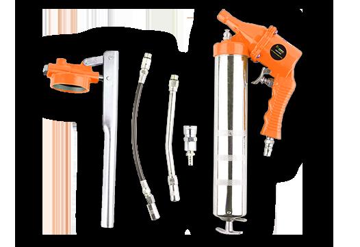 Pistola engrasadora de alta presión + pistola engrasadora + pistola de cola neumática-AGG1002